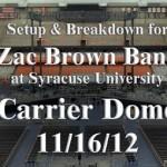 Carrier Dome photos – 11/16/12
