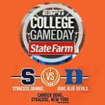 ESPN College Game Day at the Carrier Dome: Syracuse vs Duke